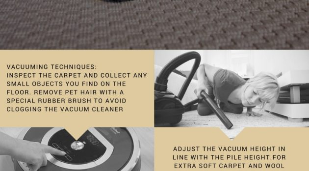 6 Way to Clean Carpet and Remove Stains | INFOGRAPHIC