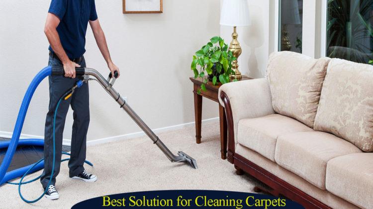 Best mathod for cleaning carpet
