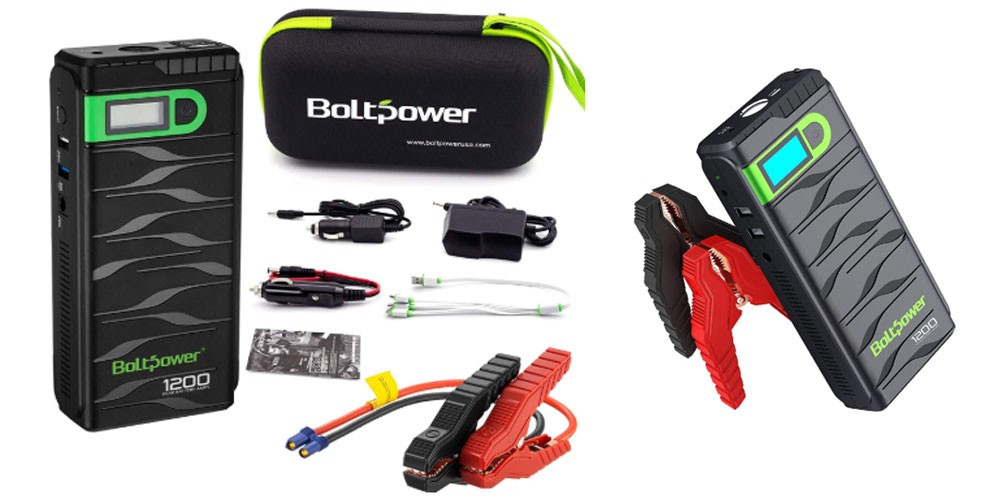Bolt Power Jump Starter Review